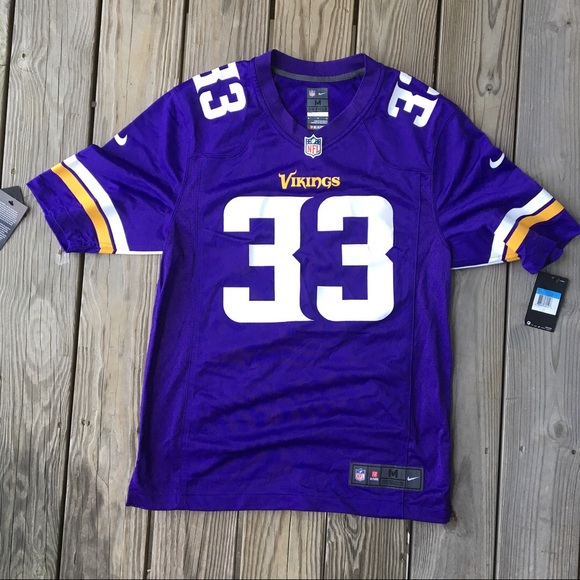 best website 266c4 2599a Nike Minnesota Vikings Dalvin Cook Jersey NWT